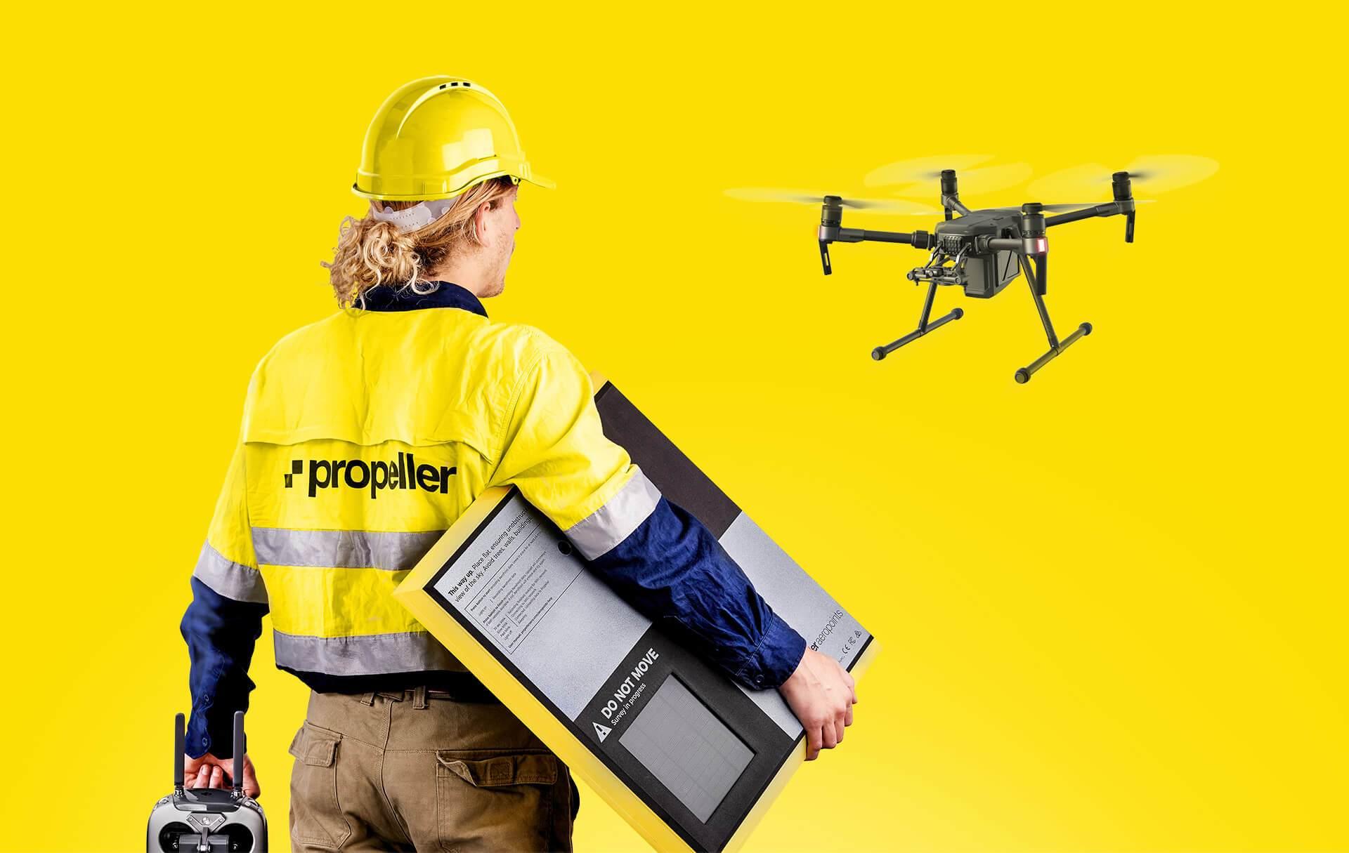 Оператор дрону з AeroPoints