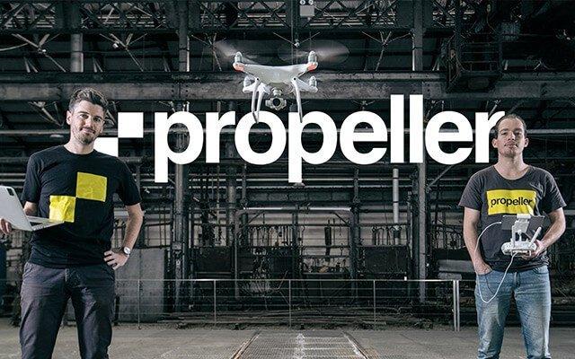 Створення корпоративного сайту для компанії Propeller Aero