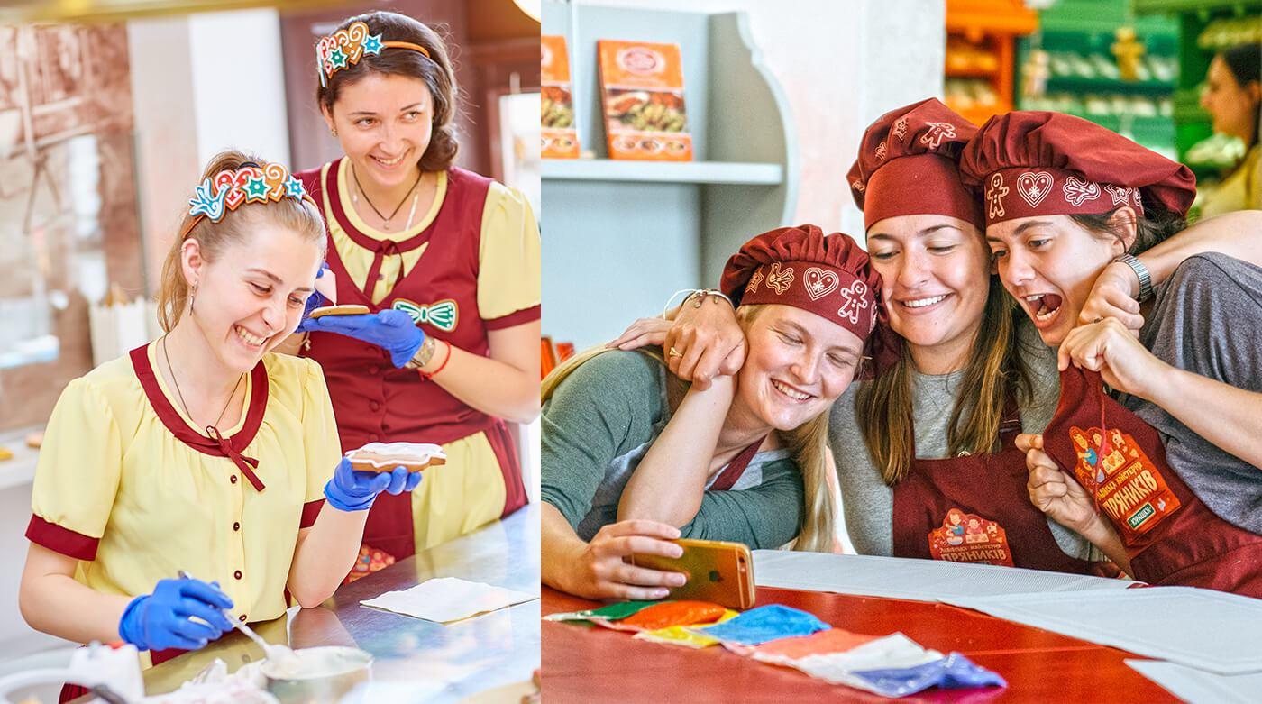 Дизайн одягу для працівників та майстер-класів Львівської Майстерні Пряників «Юрашки»