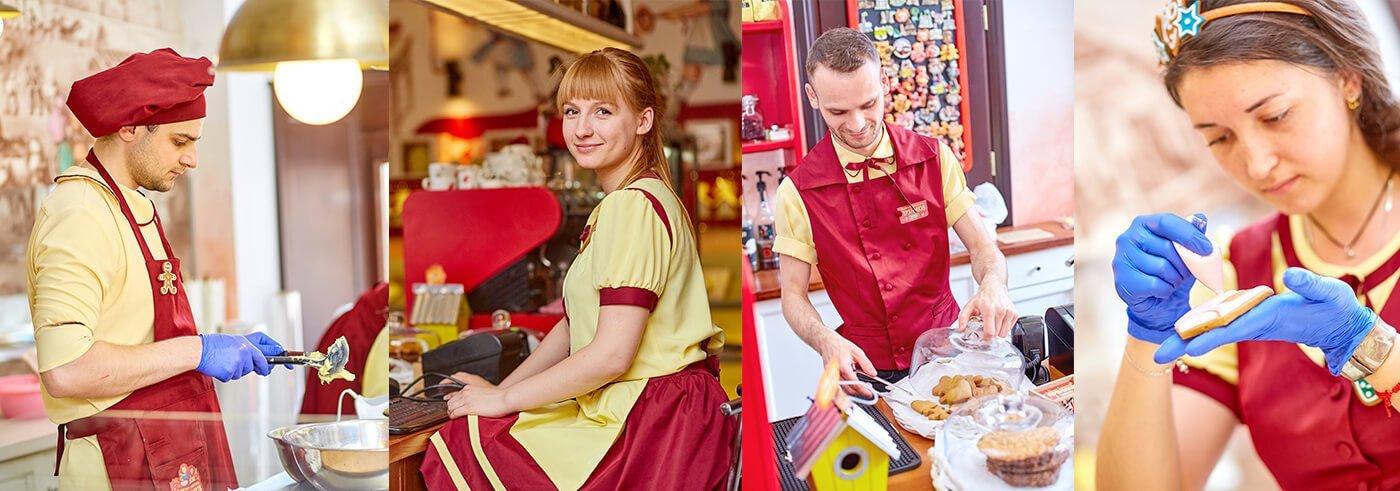 Дизайн одягу працівників Львівської Майстерні Пряників «Юрашки»