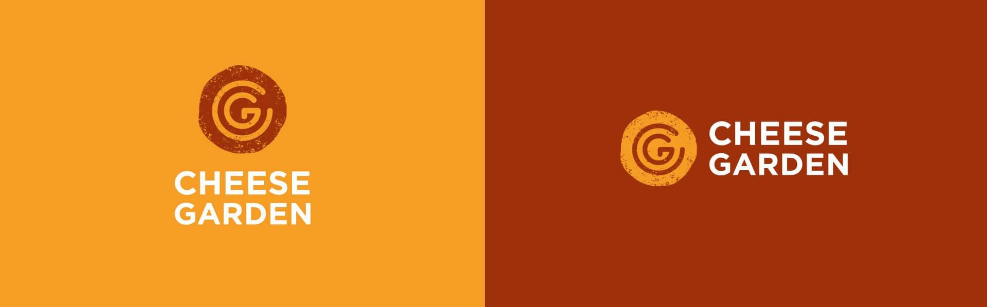 Додаткові версії логотипа «Cheese Garden»