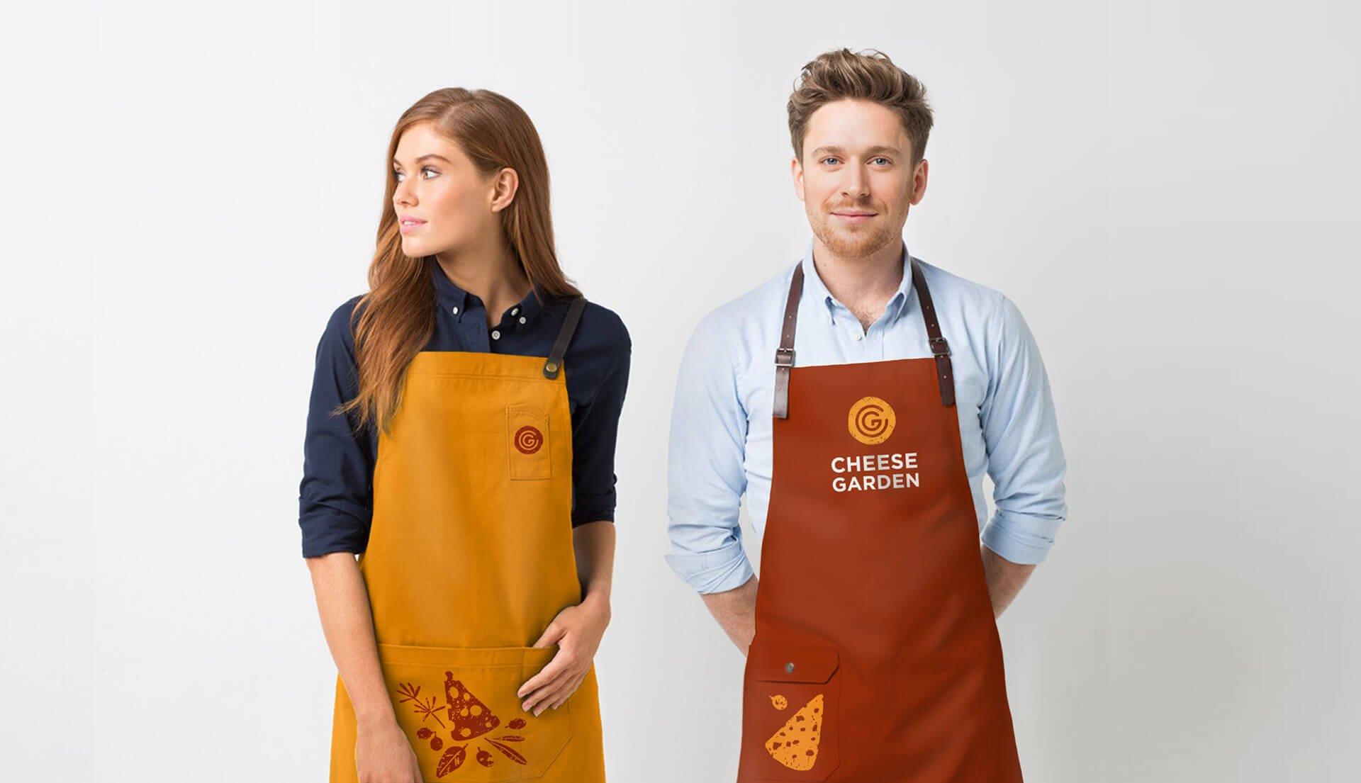 Стиль одягу працівників «Cheese Garden»