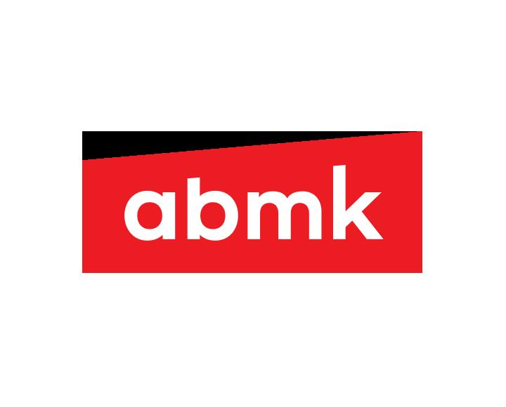 The logo of «abmk» company