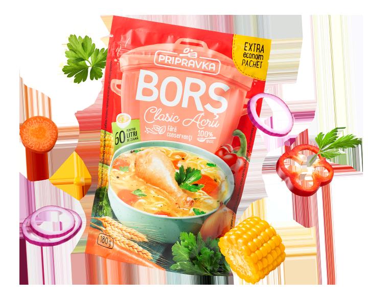 Редизайн приправи для супів «Bors» від Pripravka